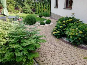 miejsce do siedzenia w ogrodzie