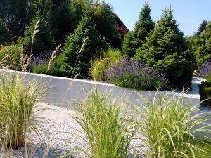 minimalizm w ogrodzie