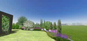 ogród angielski Skawina