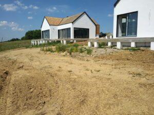 Zakładanie ogrodów - początek prac