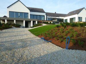 Zakładanie ogrodów - efekt końcowy