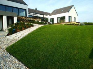 Zakładanie trawników - efekt wykonanej pracy