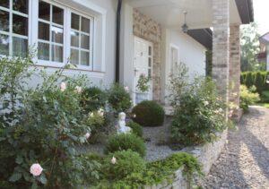 Przydomowy ogród - projekt